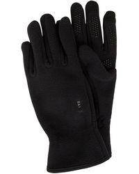 Barts Touchscreen-Handschuhe aus recyceltem Fleece - Schwarz