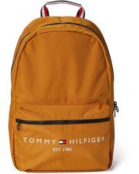 Tommy Hilfiger Rucksack mit Label-Print - Mettallic