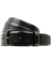 Strellson Ledergürtel mit Dornschließe - Schwarz