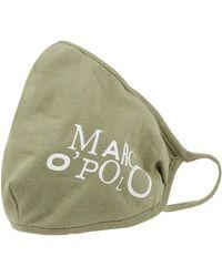 Marc O'polo Mund-Nase-Maske mit Print - Grün