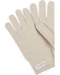 Calvin Klein Handschoenen Met Kasjmier - Wit