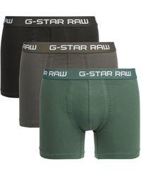 G-Star RAW Trunks im 3er-Pack - Grün