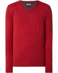 Tom Tailor Pullover aus Baumwolle - Rot