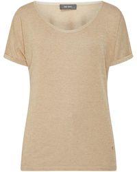 Mos Mosh Shirt mit Glitter-Effekt - Mettallic