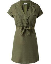 Noisy May Minikleid aus Lyocell Modell 'Vera' - Grün