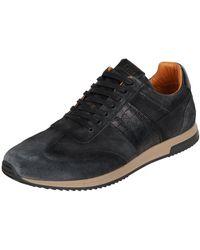 Cinque Sneaker aus Leder Modell 'Cigastone' - Schwarz