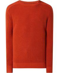 Tom Tailor Pullover mit Raglanärmeln - Orange