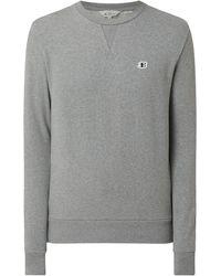 Ben Sherman Regular Fit Sweatshirt aus Bio-Baumwolle - Grau