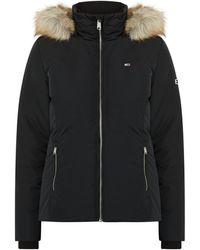 Tommy Hilfiger Jacke mit leichter Wattierung - Schwarz