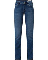 Edc By Esprit Slim Fit Jeans mit Stretch-Anteil - Blau