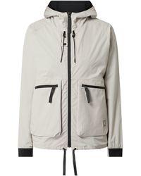 Carhartt WIP Jacke mit Kapuze Modell 'Hurst' - wasserabweisend - Natur