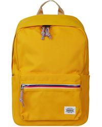 American Tourister Rucksack mit Zweiwege-Reißverschluss - wasserabweisend - Gelb