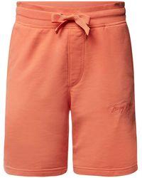 Tommy Hilfiger Sweatshorts mit elastischem Bund - Orange