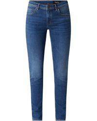 Marc O'Polo DENIM Slim Fit Jeans Met Stretch, Model 'alva' - Blauw