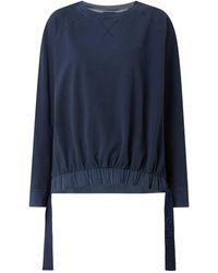 Joop! Sweatshirt mit Raglanärmeln Modell 'Tolinda' - Blau