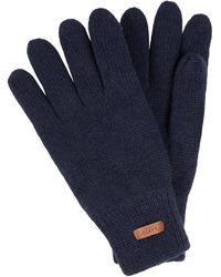 Barts Handschuhe aus Lammwolle Modell 'Haakon' - Blau