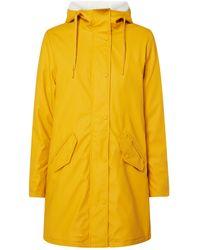 ONLY Regenmantel mit Teddyfutter Modell 'Sally' - Gelb