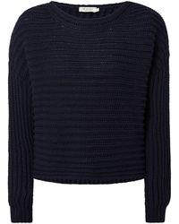 maerz muenchen Pullover mit Kaschmir-Anteil - Blau
