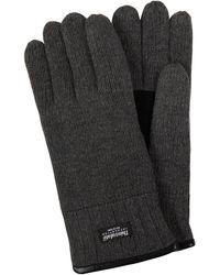 eem-fashion Handschuhe aus Wolle - Grau