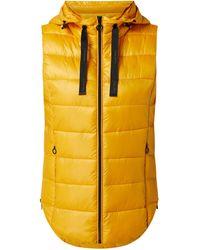 Esprit Light-Steppweste mit Wattierung - wasserabweisend - Gelb
