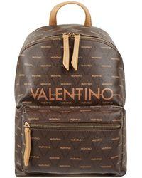 Valentino - Rucksack mit Logo-Muster Modell 'Liuto' - Lyst