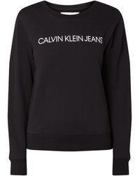 Calvin Klein - Logo-Sweatshirt - Lyst