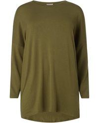 Only Carmakoma - PLUS SIZE Longshirt aus Viskosemischung Modell 'Carma' - Lyst