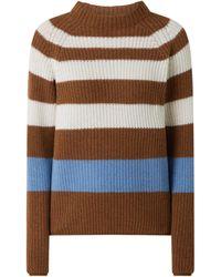 maerz muenchen Pullover aus Schurwolle - Braun