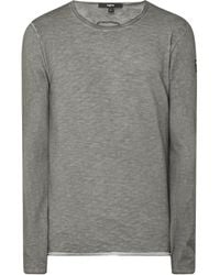 Tigha - Longsleeve im Washed Out Look Modell 'Albo' - Lyst