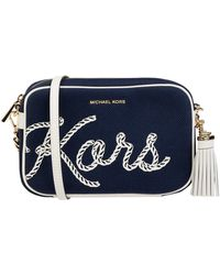 MICHAEL Michael Kors Crossbody Bag mit Logo - Blau