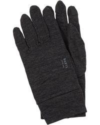 Barts Handschuhe aus Merinowolle - Touchscreen-fähig - Grau