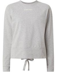 Calvin Klein - Sweatshirt mit Logo-Prints - Lyst