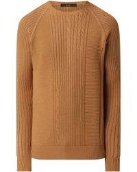 Windsor. Pullover aus Baumwoll-Woll-Mix Modell 'Gismo' - Natur