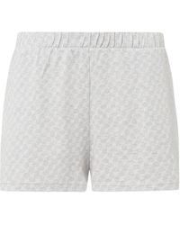 JOOP! BODYWEAR Shorts aus Baumwolle mit Logo-Muster - Grau