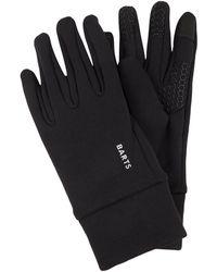 Barts Touchscreen-Handschuhe mit Stretch-Anteil - Schwarz