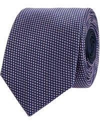 Jake*s Krawatte aus reiner Seide (6,5 cm) - Lila