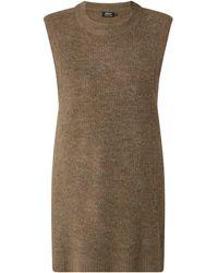 ONLY Pullunder mit Woll-Anteil Modell 'Karinna' - Braun