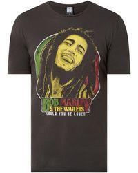 Amplified T-Shirt mit 'Bob Marley and the Wailers'-Print - Grau