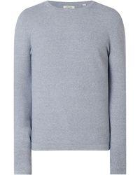 Jack & Jones Pullover aus Baumwolle Modell 'Rob' - Blau