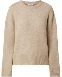 EDITED Pullover mit überschnittenen Schultern Modell 'Grace' - Natur