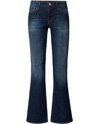 Mavi Slim Fit Bootcut Jeans mit Viskose-Anteil Modell 'Bella' - Blau