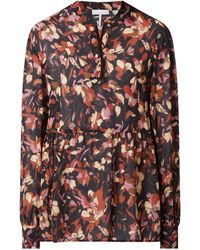 Cinque Bluse aus Viskose Modell 'Citala' - Schwarz
