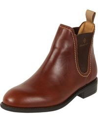 GANT Chelsea Boots aus Leder - Braun