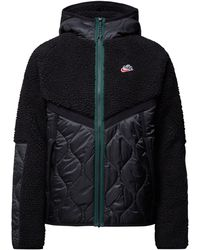Nike Loose Fit Steppjacke mit Teddyfell - Thermore® Classic - Schwarz