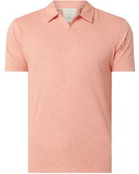 SELECTED - Poloshirt aus Slub Jersey Modell 'Jared' - Lyst