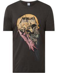 Amplified T-Shirt mit Metallica-Print - Grau