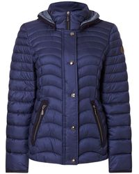 GIL BRET Steppjacke mit Thermore® Classic-Isolierung - Blau