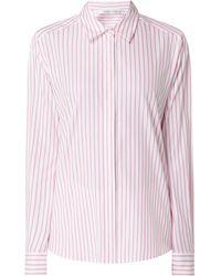 Joseph Janard Bluse aus Baumwolle - Pink