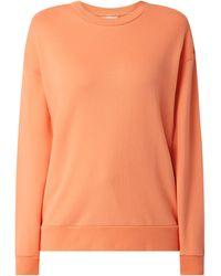 ARMEDANGELS Sweatshirt aus Bio-Baumwolle Modell 'Aarin' - Orange