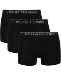 Polo Ralph Lauren Trunks im 3er-Pack - Schwarz